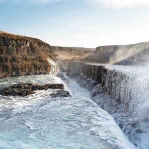 La cascade de Gullfoss Islande